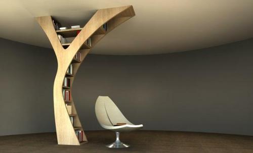 32 étagères pour livres au design insolite
