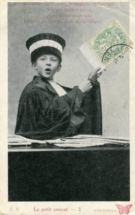 Le Petit Avocat  (Jean-Maurice Tesson. Limoges)