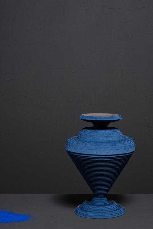 Le bleu égyption de Sahabi