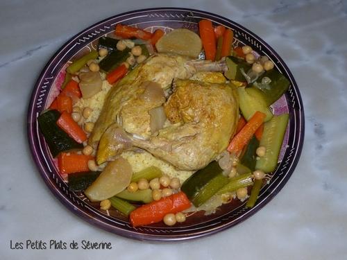 Couscous de Poulet - Maroc
