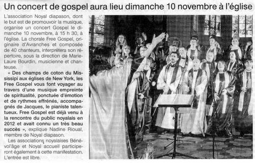 10/11/2013 : Gospel à Noyal