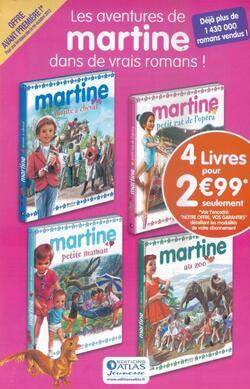 Mes livres romans Martine