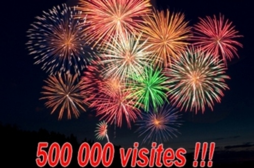 500 000 visiteurs!!