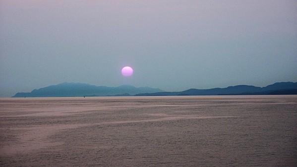 Jour 27 Ferry coucher de soleil 2