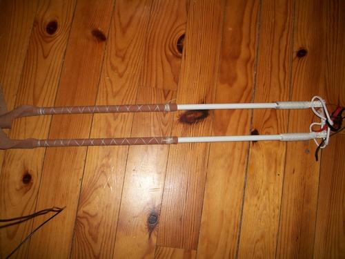 manches fibres de verre et nylon blanc (suite)