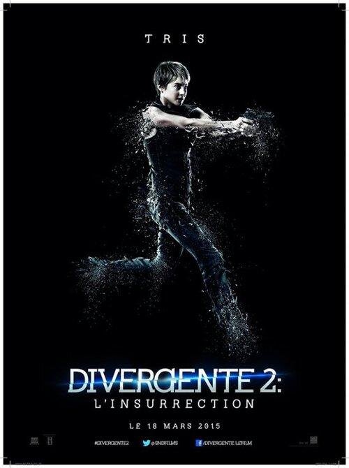 #insurgent : Poster de #Tris #Prior en VF via @SNDFilms