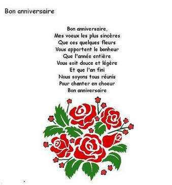 chanson anniversaire william
