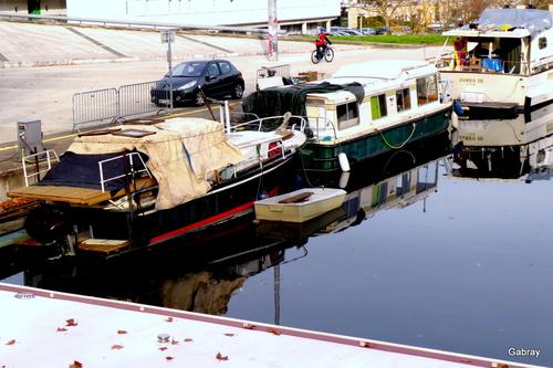 Canal du Midi: port de Ramonville en 31
