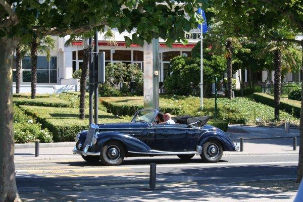 D?part pour la balade au lac d'Enghien le 22 juillet 2012