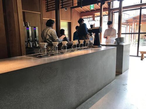 Blue Bottle Kyoto & OyoguKuma Takayama