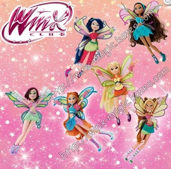poupées winx club sophix