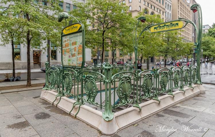 Montréal : Marché Jean Talon, Square Victoria, Place Jacques Cartier