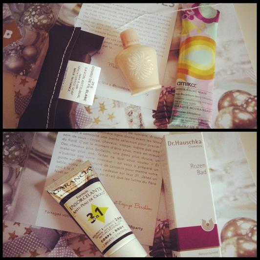 Birchbox Décembre, un joli cadeau de Noël...
