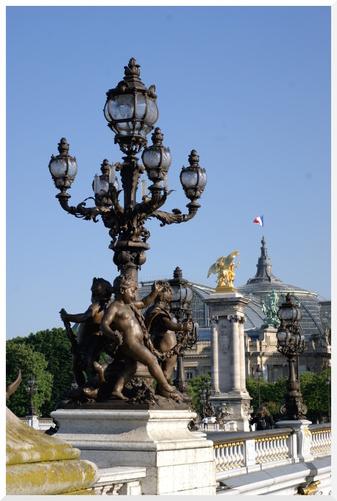 Paris. Pont Alexandre III.