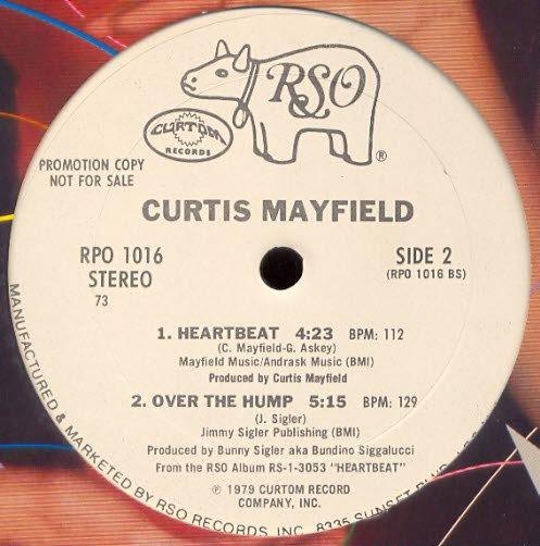 1979 : Single Maxi 12 Inch Curtom / RSO Records RPO 1016 Promo [ US ]