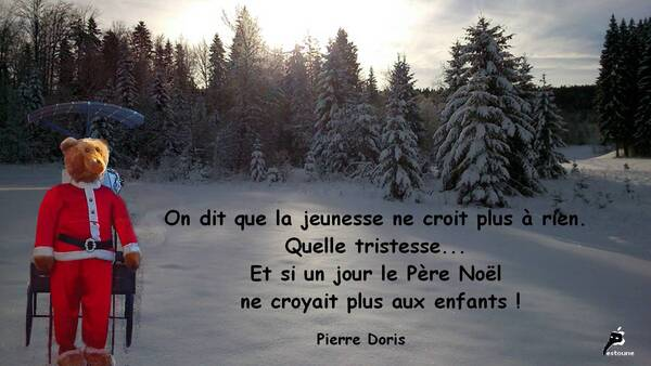 La jeunesse ne croit en rien - citation de Pierre Doris