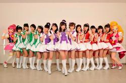 """Morning Musume'15 désigné pour représenter le film """"Pretty Cure"""""""
