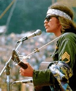 Emprunt : Louis Armstrong au festival de Woodstock