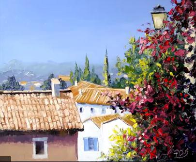 Dessin et peinture - vidéo 2169 : Peindre à la carte.......de fidélité !!! - peinture à l'huile ou à l'acrylique.