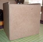 Boîte à mouchoir en cube