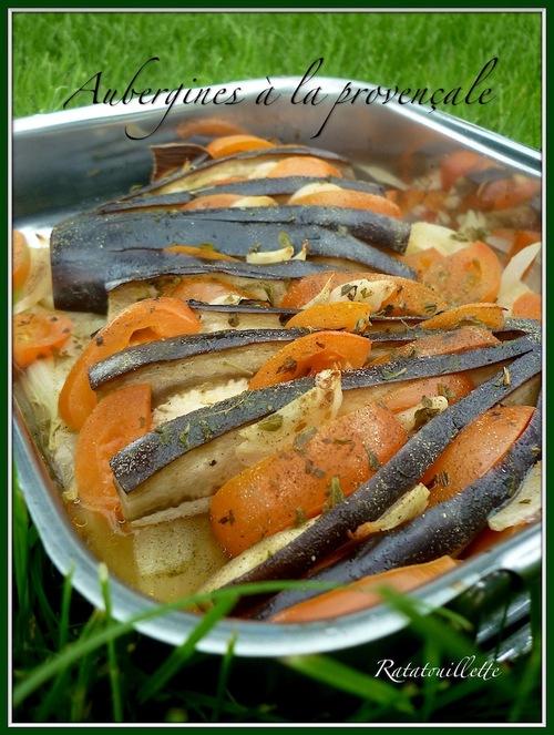 Aubergines à la provençale