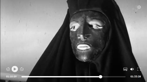Juliette Gréco Belphégor Fantôme de lopéra (1)