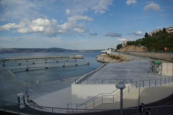 DeSelce à Lozovac - marina en construction