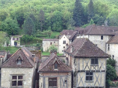 Figeac - Cahors via Rocamadour et St Cirq Lapopie 180 kms