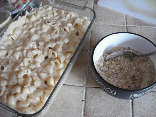 Un Gratin de Macaroni and Cheese