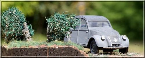 Diorama 2cv: Série de photos
