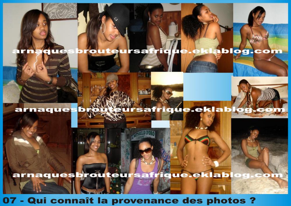Qui connaît 07 - photos volées par des brouteurs ivoiriens pour arnaquer