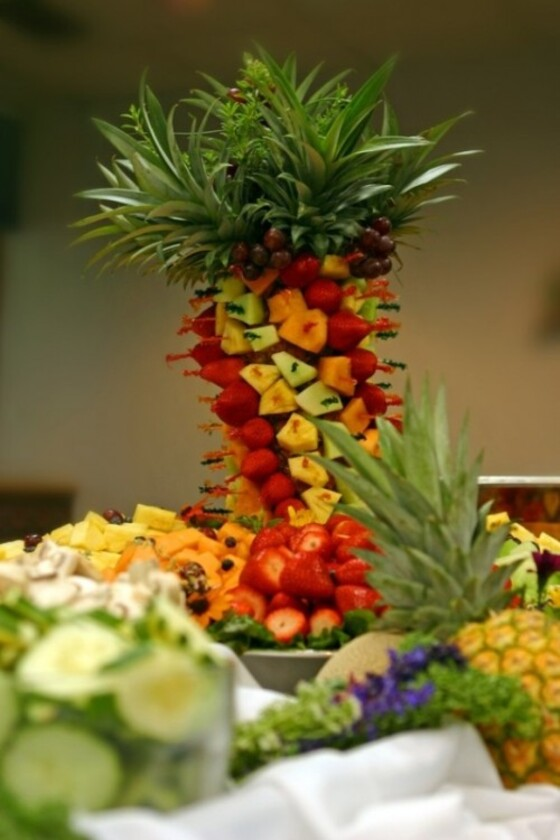 composition fruits exotiques magnifique