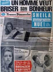 """Vacances d'été 1970 : Le soleil """"est Sheila"""" !!! MAJ"""