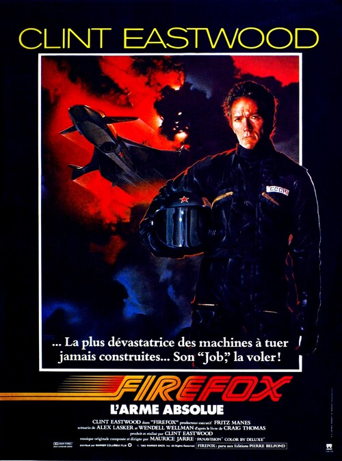 FIREFOX L'ARME ABSOLUE -  BOX OFFICE CLINT EASTWOOD 1982