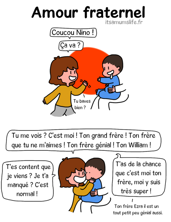 Une note d'amour (fraternel)