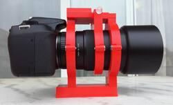 Samyang,Rokinon,135,f:2,bracket,astrophotography,astrokraken,3d-printing
