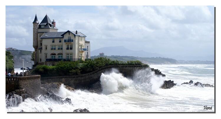 Biarritz: le front de mer 4/4.