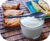 Mousse de mozzarella au basilic (siphon)