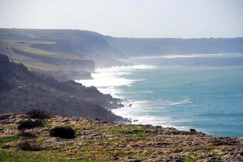 Côte à falaise