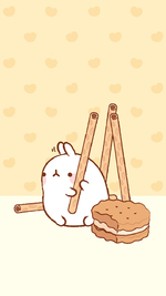 [wallpaper] Molang & Pepero Day !