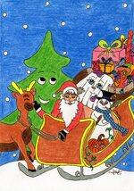 Le Père Noël en a plein le dos sur Babelio