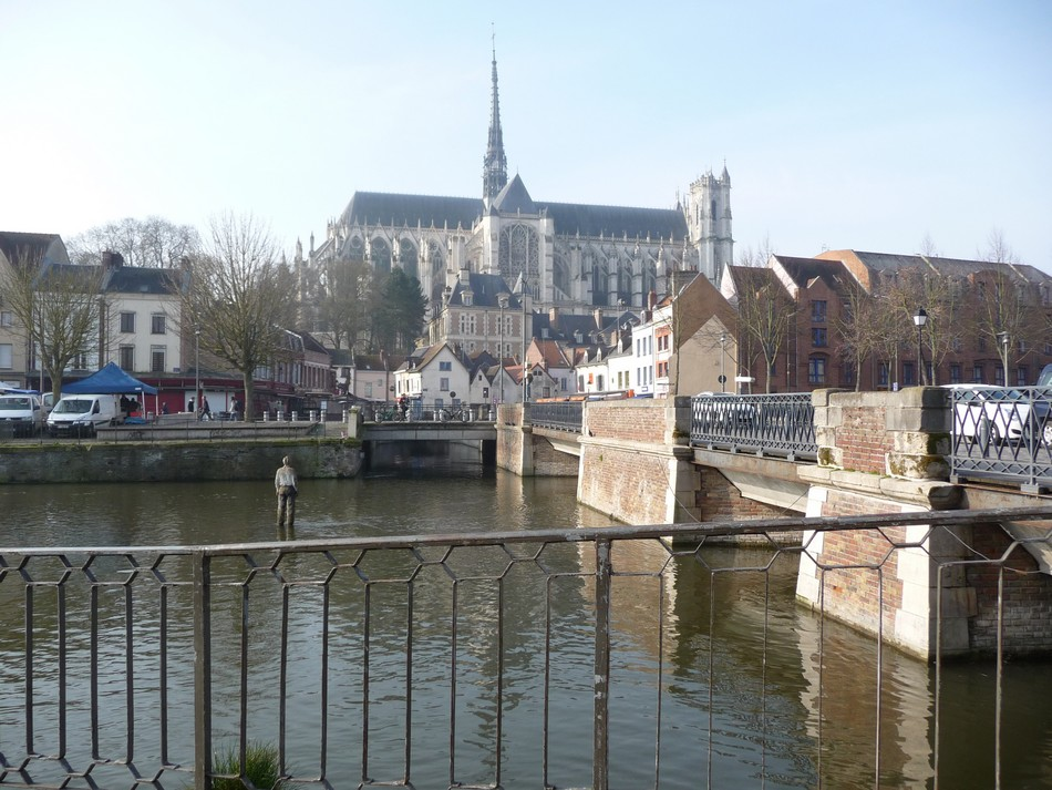 Un week-end de mars à Amiens