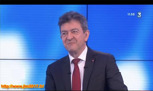 """""""On n'est pas couché"""" : Jean-Luc Mélenchon défend les frappes russes en Syrie"""