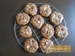 Cookies total choco' aux chunks 3 chocolats