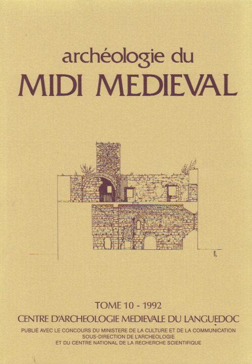 La revue Archéologie du Midi Médiéval
