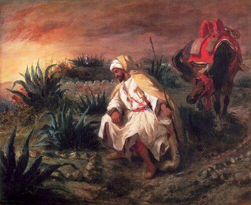 Delacroix l'oriental