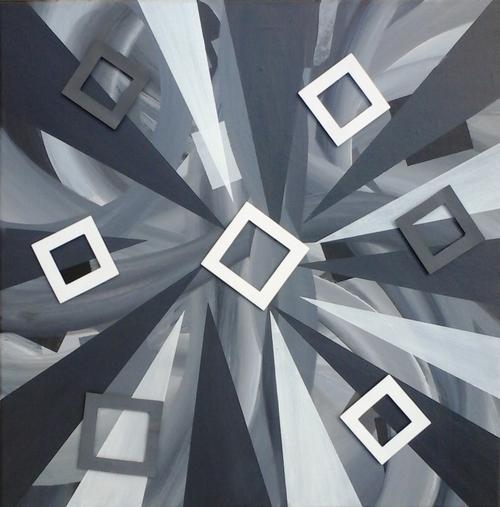 Suite peinture abstraite, nouvelles peintures