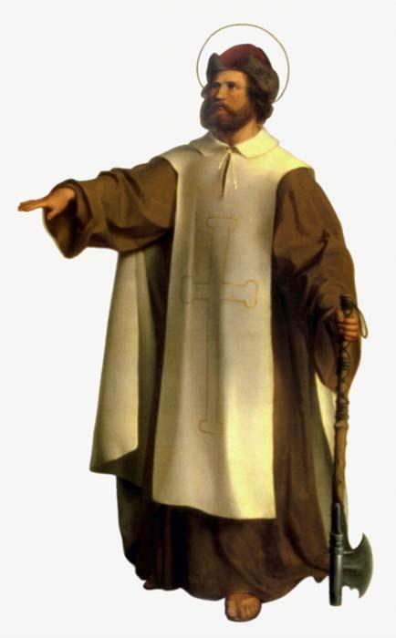 Saint Boniface. Archevêque de Mayence, martyr († 754)