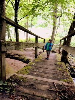 Le sentier des anciens moulins à Gramond