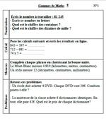 Gammes Français-Maths pour le CM